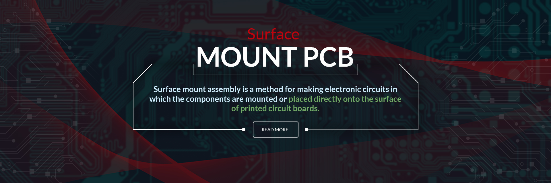 Electronic Circuit Board Contract Assembly
